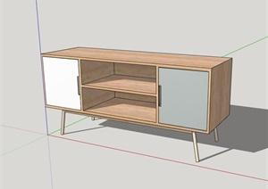 獨特完整的柜子素材設計SU(草圖大師)模型