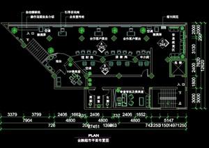 某详细的超市空间室内设计cad详图