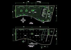 电器店详细完整设计cad施工实例