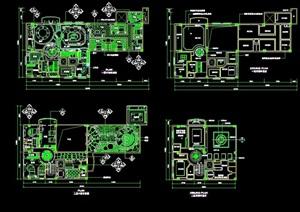 某完整的室内别墅设计cad施工图