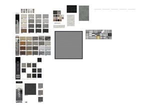 sketchup常用的材质贴图