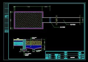 运动场(跳远区)详细CAD施工图