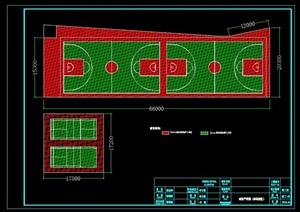 (球场)详细CAD施工图