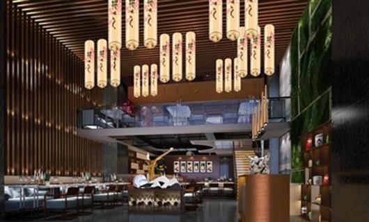 文华权设计-株洲日本料理餐厅