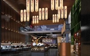 文華權設計-株洲日本料理餐廳
