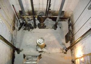 电梯基坑CAD施工图