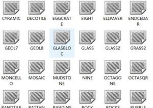 127种CAD图案填充
