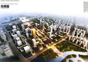 商丘高铁新城核心区南北城门建筑设计方案高清文本2017