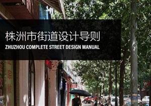 株洲市街道设计导则2017高清文本