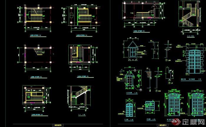 欧式风格餐饮建筑设计cad方案