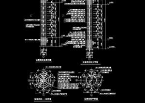 景观柱子素材cad施工图