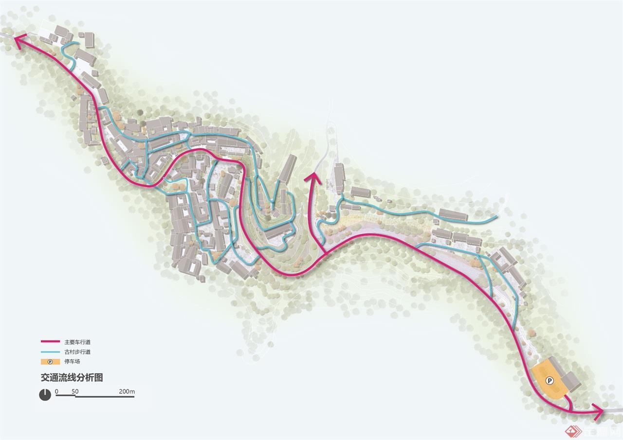 交通流线分析图-01
