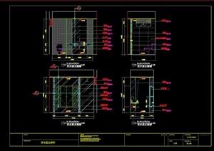 小卫生间设计cad详图