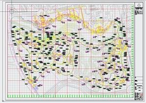 南京市江宁开发区洋山湖郊野公园景观设计方案【JPG方案 CAD扩初施工图】