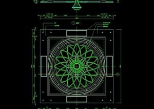 西式顶棚吊顶设计cad施工图