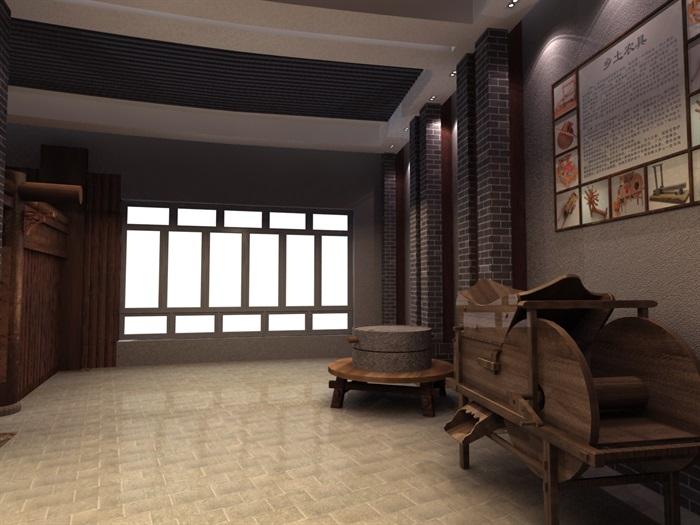 200平米农具博物馆展厅设计(4)