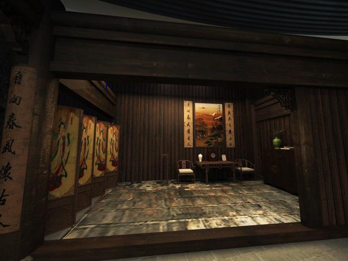 200平米农具博物馆展厅设计(5)
