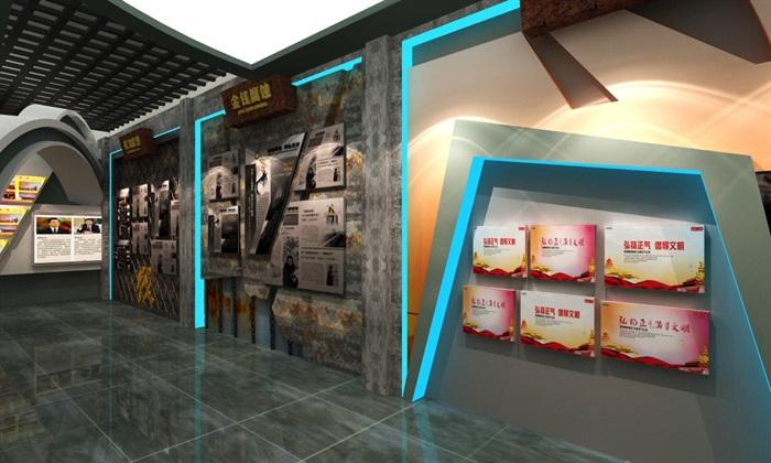 法院反腐主体展厅设计方案3D模型(7)