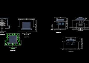 公共廁所詳細設計cad施工圖