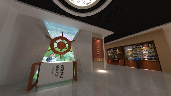 廉政警示教育基地展厅设计方案3D模型(10)