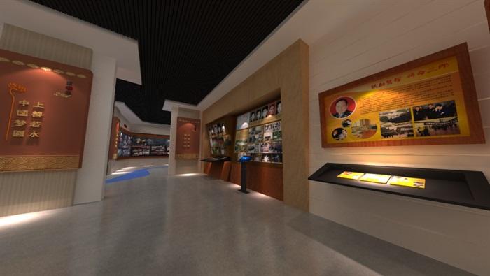 廉政警示教育基地展厅设计方案3D模型(11)