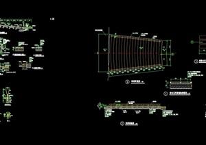 园林景观广场节点设计cad施工图