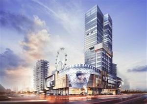 成都七一国际广场 商业综合体 垂直森林住宅 基准方中