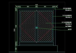 配电箱配电柜变电房外装饰木格栅装饰美化施工图详图