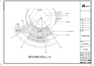 详细的木平台设计cad施工图
