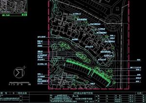 住宅部分小区景观设计cad方案