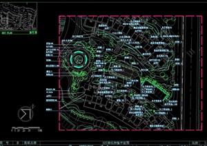 某住宅详细的小区景观部分设计cad施工图