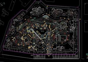 园林住宅小区景观详细设计cad施工图