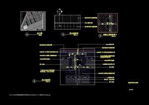 排水沟详图及排水缝cad详图