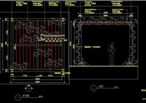 特色亭详细完整设计cad施工详图