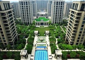 03绿城北京诚园植物CAD施工图、实景图