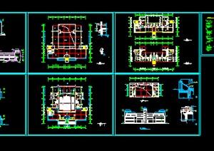 某学校艺术中心全套建筑图