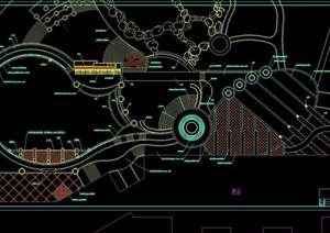 泳池区详细规划设计cad方案
