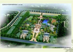 某住宅花园环境景观设计投标jpg方案