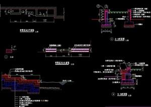 花坛台阶详细设计cad施工图