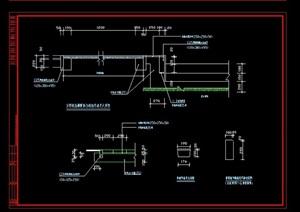 详细的完整道路设计cad施工图