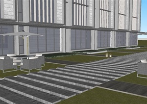 苏州阳山万科大象山舍建筑与景观SU(草图大师)模型