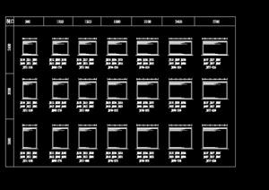33个铁栅门节点cad详图