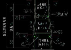 49個構件制作節點構造CAD詳圖