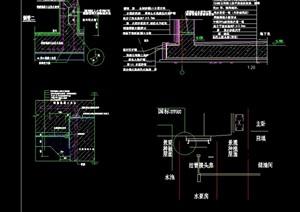 23个地下防水素材节点设计cad方案