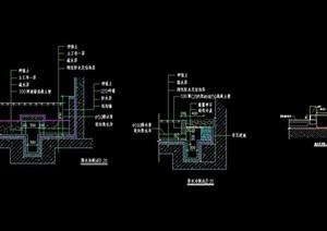 排水沟详细素材设计cad施工图