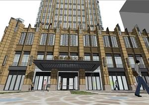 某古典风格高层商业办公楼