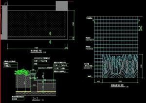 园林景观特色种植区设计cad施工图