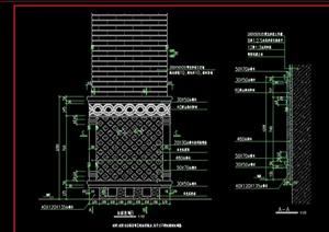 景观柱面设计cad施工图