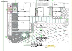 详细的步行街设计cad平面