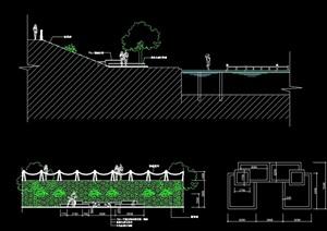 沙灘浴場設計cad方案